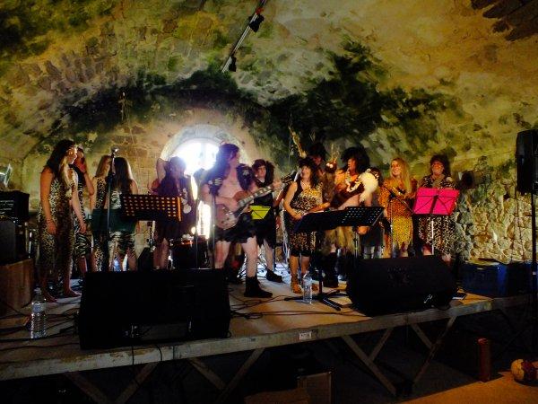 ... le début de la fête de la musique 2014 avec Diapason, tournée océane.