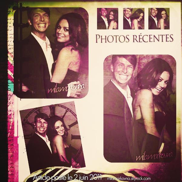 Des photos datant de 2009 prises lors des Guys Choice Awards sont apparues sur la toile. Mila était présente sur les photos avec  Michael Yarish. J'adore ses cheveux :)
