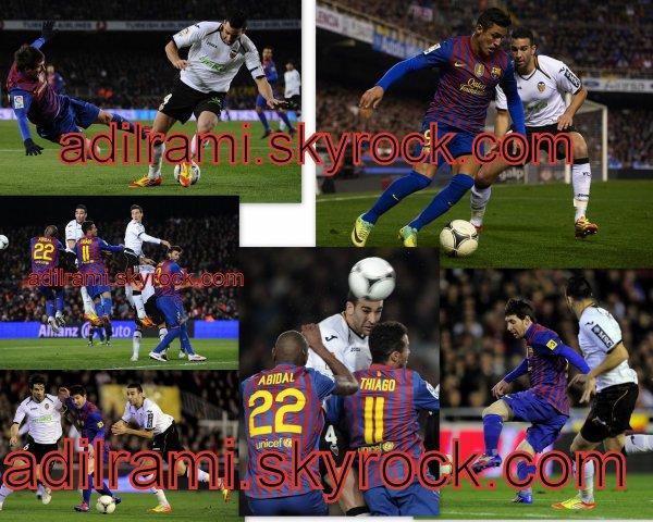 fc barcelonne -valence fc (2-0)