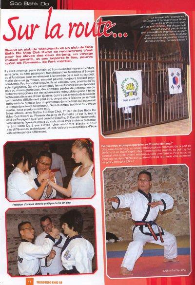article TAEKWONDO CHOC 2