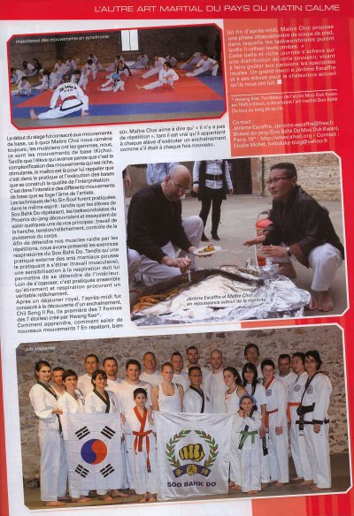 article TAEKWONDO CHOC 1