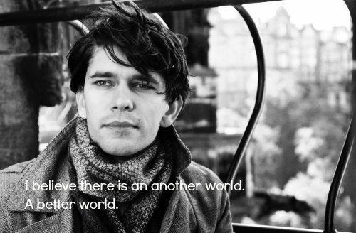 A better world.