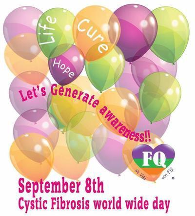 Le 8 septembre journée mondiale de la mucoviscidose??? savez-vous???