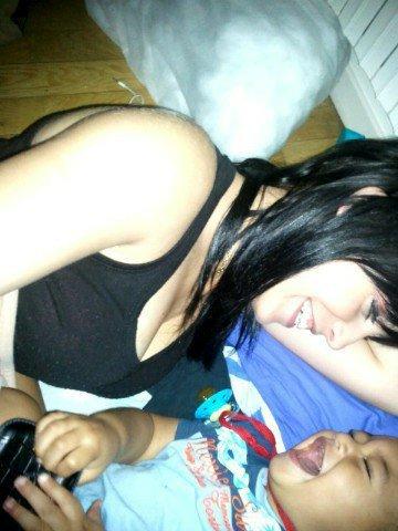 moi et mon bébé =)