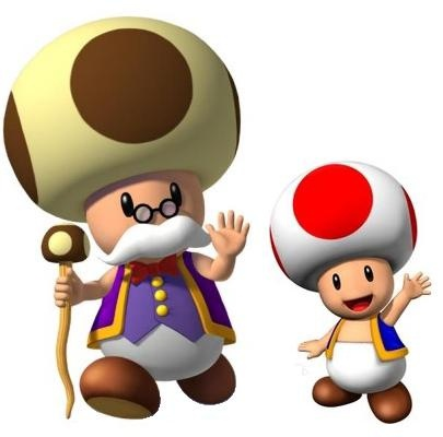 Papy Champi Et Toad!