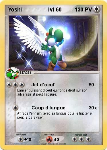 Carte De Yoshi Tous Sur Mario Et Ses Amis