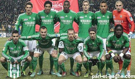 Tous les joueurs de Saint Etienne
