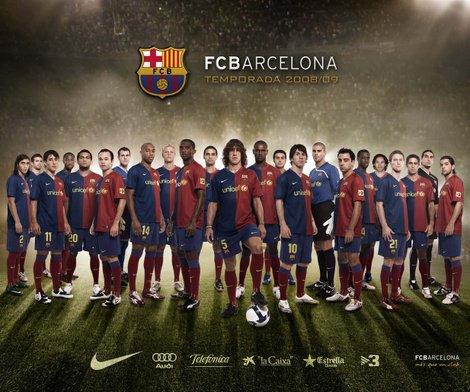 Tous les joueurs de Barcelone