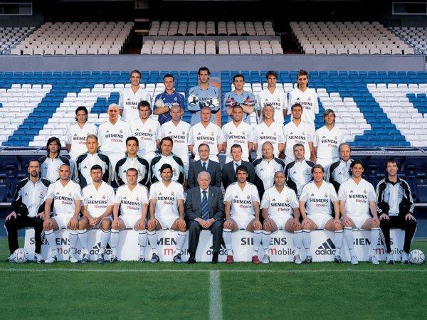 Tous les joueurs du Real Madrid