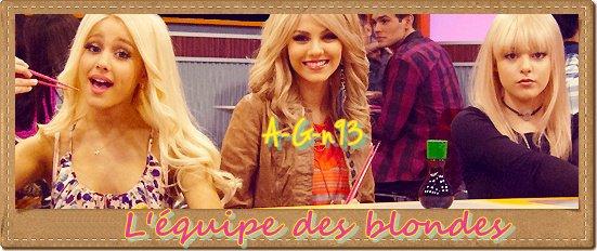 Victorious et l'équipe des blondes ♥