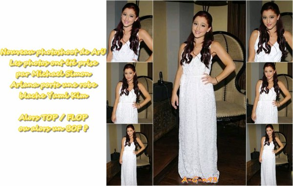 Toujours le rattrapage des news de la magnifique Ariana  :/
