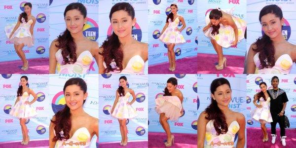 Eh oui que du rattrapage :/ pleins (de news) sur Mlle Ariana