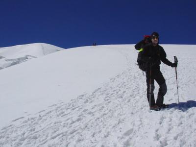 Expédition au Pic Lénine - Kirghizstan (08/2006) En route pour le Camp 3