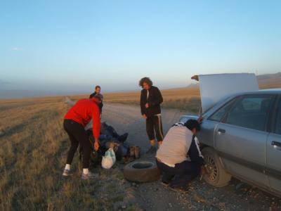 Expédition au Pic Lénine - Kirghizstan (08/2006) En route pour le lac de Songkul
