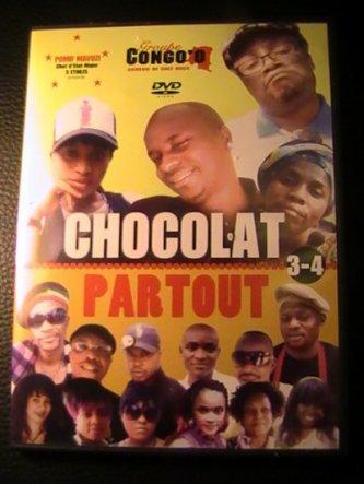Pomif Mavuzi production présente: Nouveau théatre Chocolat Partout enfin dissponible!