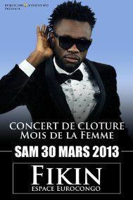 Promo Kinshasa: Fabregas cloture le mois de la femme