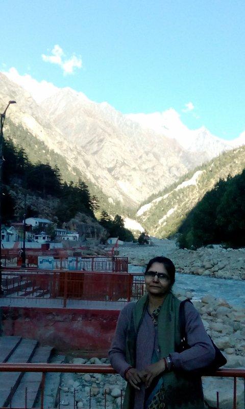 हिमालय की गोद में #गंगोत्री