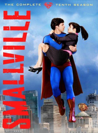 Coffret DVD Smallville Saison 10