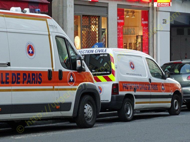PROTECTION CIVILE DE PARIS 21/09/2013