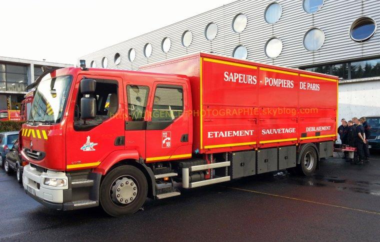 RENAULT MIDLUM 270Dxi CESD 4 BSPP affecté au Centre de Secours de Saint-Denis [1.26.1]