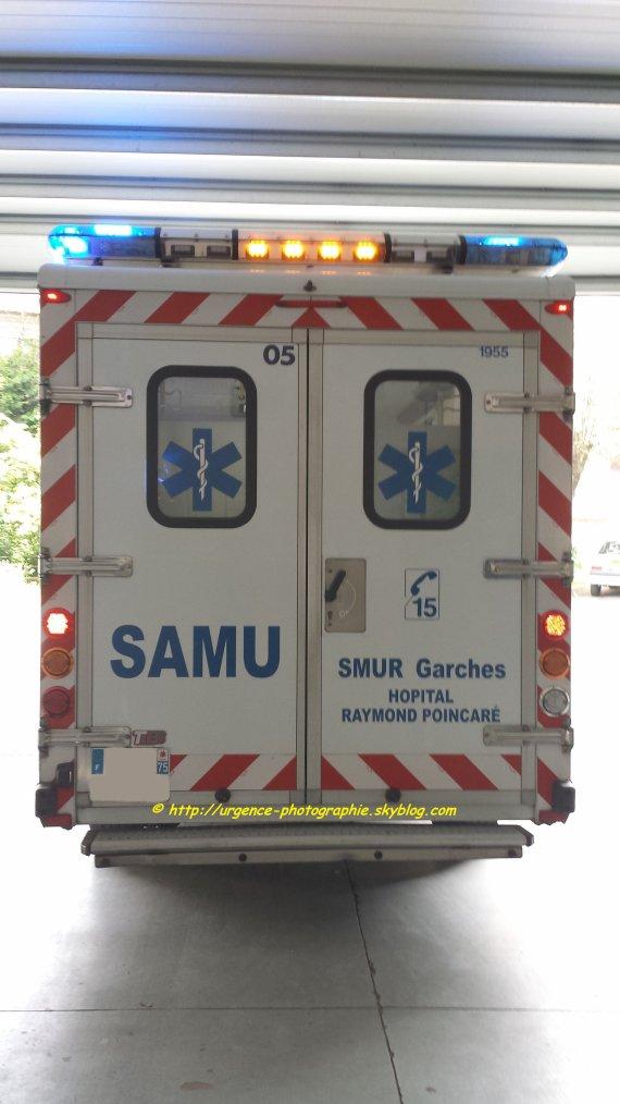 SAMU 92 SMUR GARCHES DEPART UMH 05
