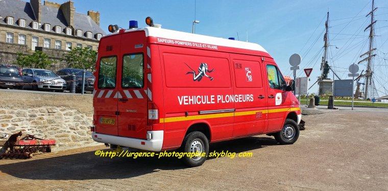 MERCEDES SPRINTER 313Cdi 4x4 VPL CSP SAINT-MALO (35) 14/06/2014