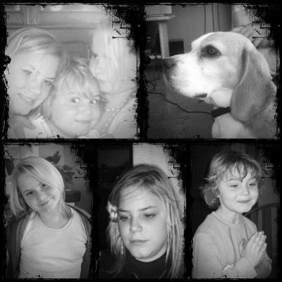 mon frère ma soeur notre chien et moi