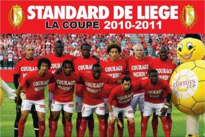 Le Standard de Liège vainqueur de la coupe de Belgique 2010-2011