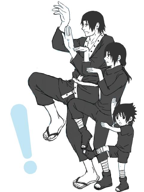 sasuke famille