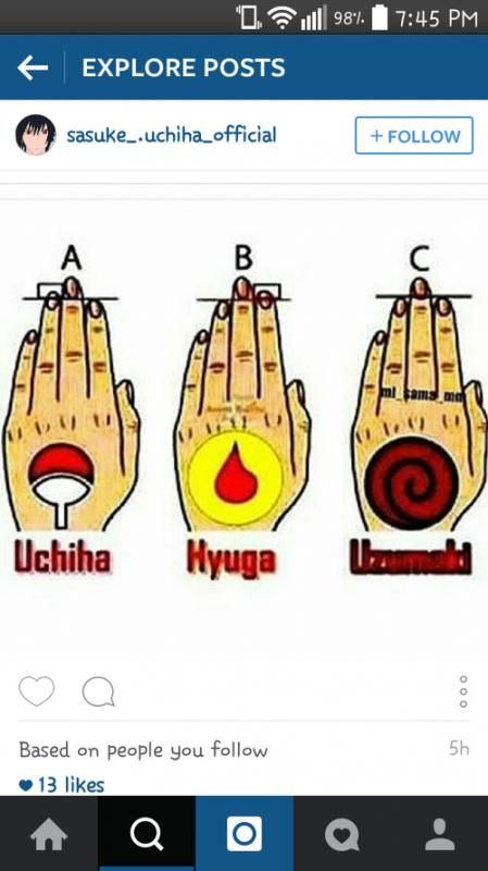 je suis un hyuga et vous ?