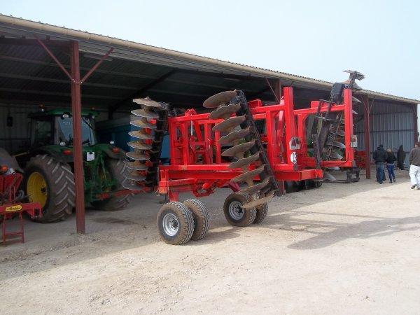 jd 7820+crover crop quivogne