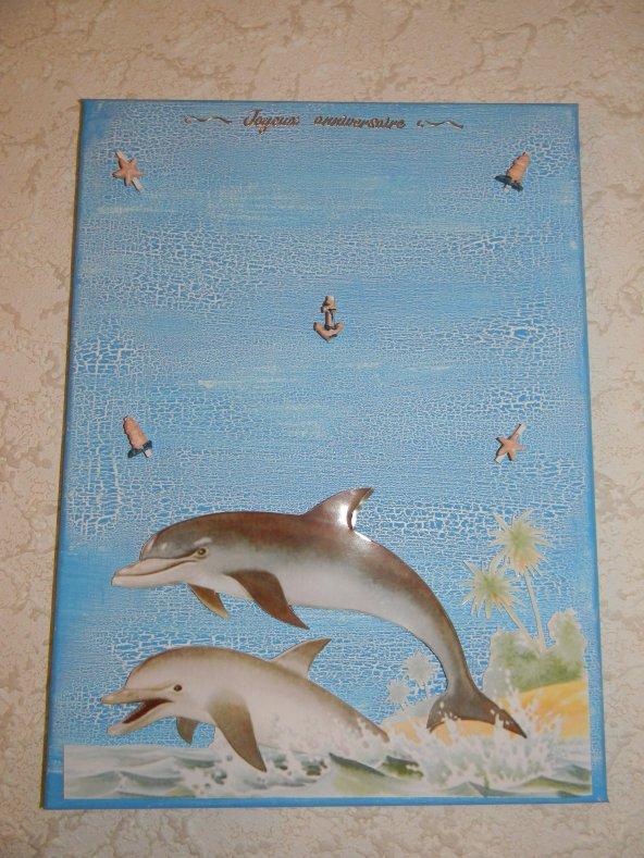 pèle mèle dauphin 3D