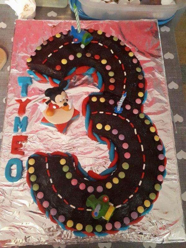 gâteau pour les 3 ans de mon petit ange