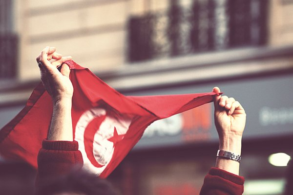 """Je suis contre le rcd ,contre la franc maçonnerie en Tunisie!! Le sang de nos martyrs (paix à leurs âmes) est trop précieux pour qu'il soit abîmer et ils ne sont pas morts pour une nouvelle dictature pour une nouvelle censure qui crève les yeux, c'est pourquoi on doit pas cesser de dire""""DEGAGE"""" .Il faut continuer notre révolution."""