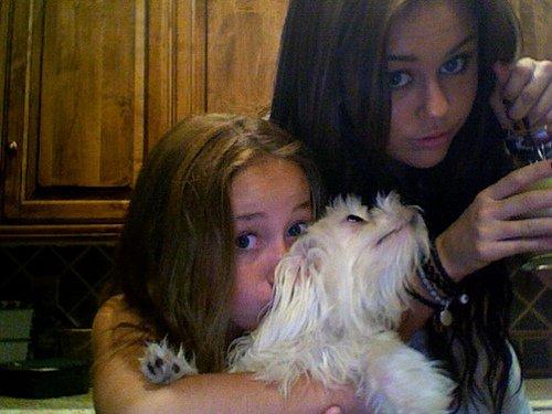 <3 mes filles et moi <3