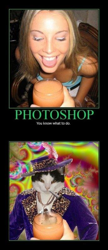 Un coup de Photoshop et ...