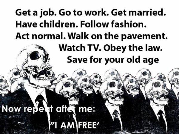 Nous sommes libres