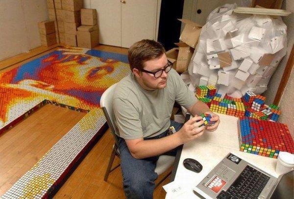 Rubik's Art