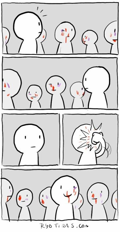 Ressembler au autres est souvent absurde