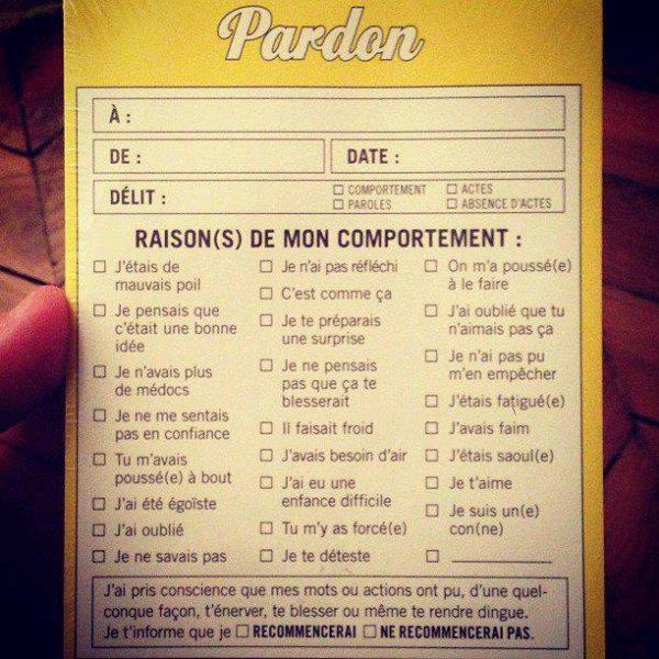 Pardon
