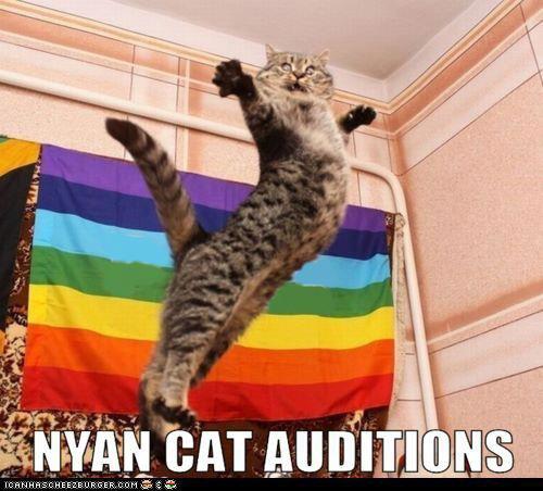 Nyan Cat Auditions