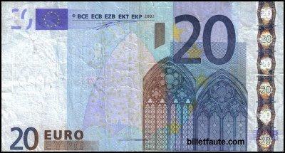Le Billet de 20 euros