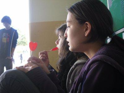 Agnes et Ariane avec les A