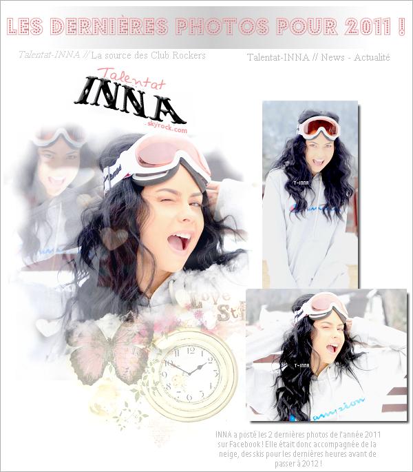 # Les dernières photos d'INNA pour 2011 !