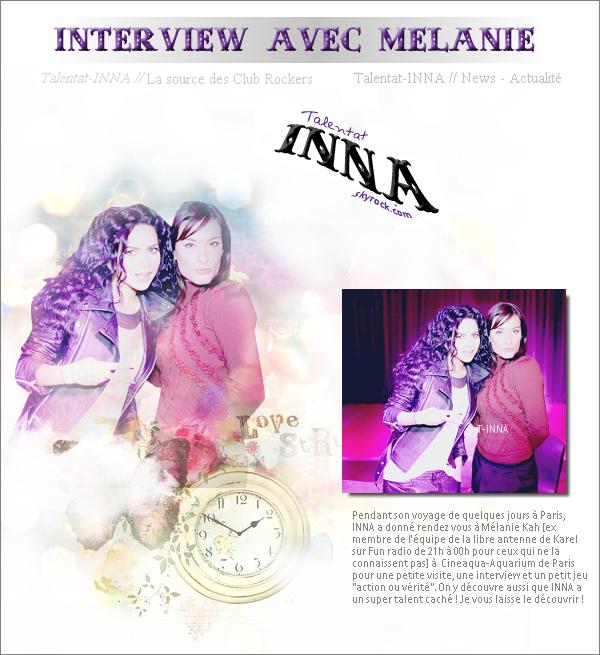 # Premier show à Belgrade pour 2012 ! + Interview pour la minute people de Mélanie