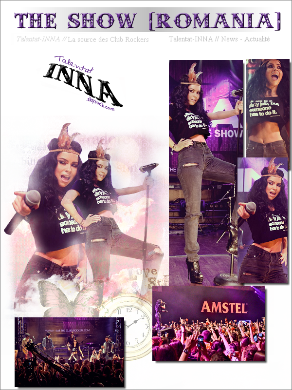 # INNA @ The show