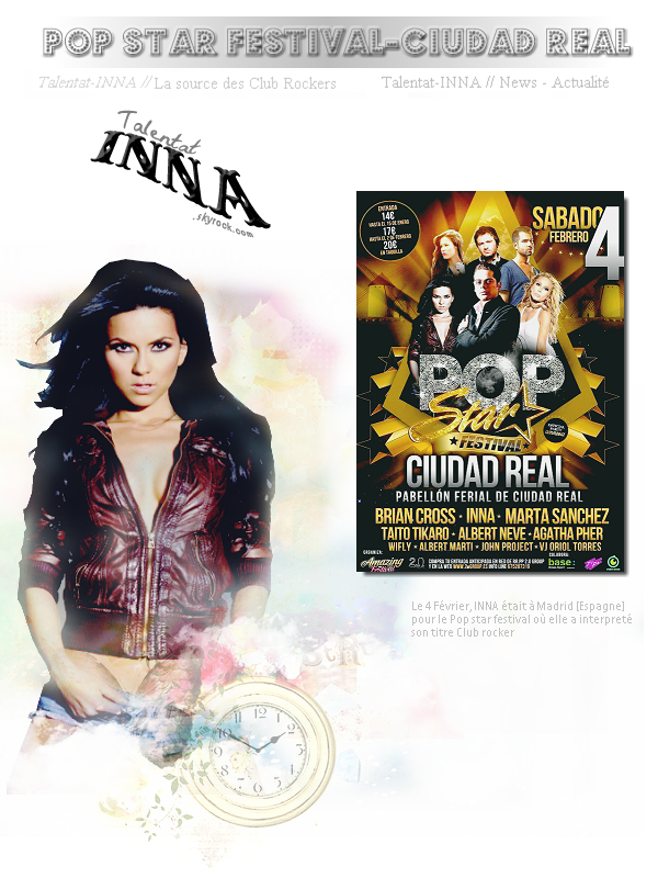 #INNA @ Pop star festival - Ciudad real