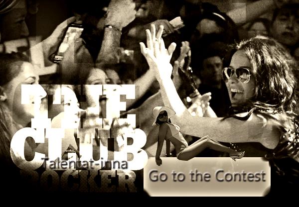 """→ Un nouveau contest sur INNA.ro !       INNA lance un petit """"concours"""" où vous devez vous prendre en video et dire """"I am the club rocker"""" dans votre langue natale, INNA choisira la meilleure video pour les débuts de ses shows !"""