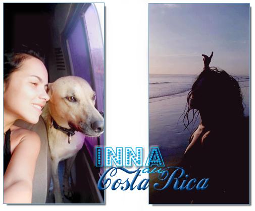 → INNA au Costa Rica                                      INNA etait il y a quelques jours au Costa Rica, elle s'est fait une nouvelle amie du nom de Chela ! Elle profite du soleil latino♥ [photos 1 et 2] , elle en a profité pour faire quelques balances avec Play&Win [photos 4 et 5] et en profite pour tourné un clip, oui mais lequel ? :P surprise ! [Photo 3] + Une PUB TV mgnifique♥