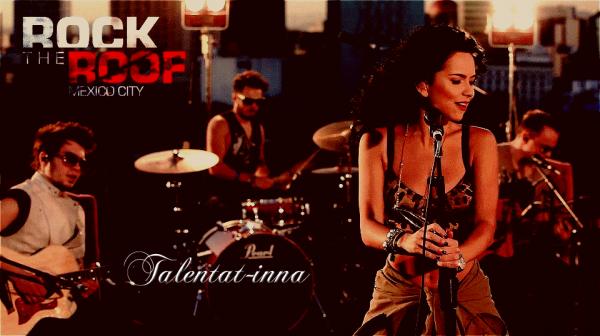 """→ INNA nous dévoile une photo de son """"Rock the roof"""" au Mexique ! + INNA à Toulouse ce soir ! [20.04.2012]"""